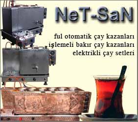 Netsan Çay Kazanları